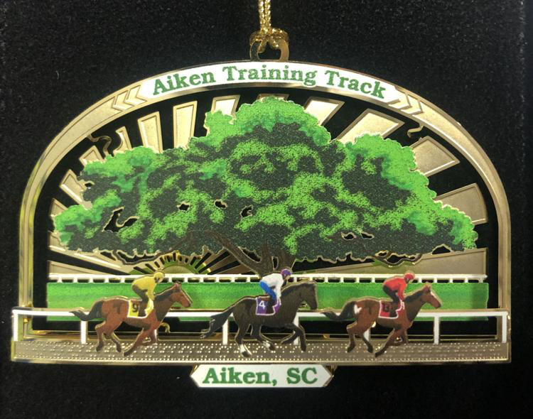 Aiken Training Track Christmas Ornament